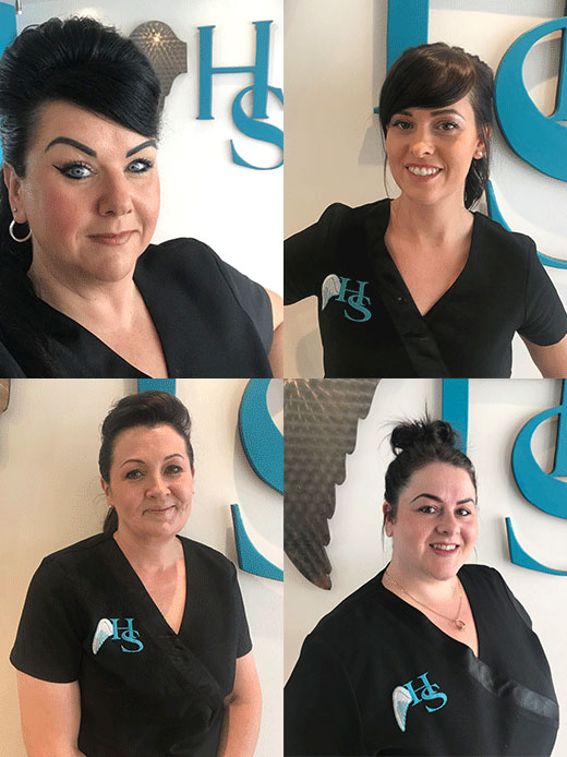 kirkcaldy beauty salon team
