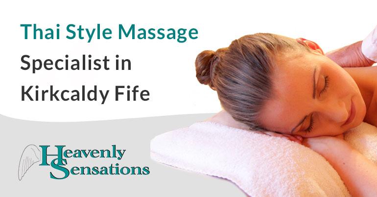 thai massage specialist kirkcaldy fife