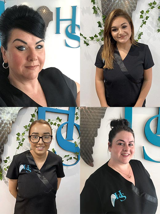 kirkcaldy beauty salon team